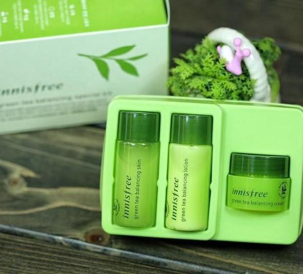 Green Tea - Bộ Dưỡng Trà Xanh Innisfree