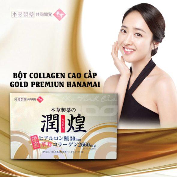 Gold premium hanamai collagen tốt nhất hiện nay