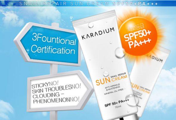 Kem chống nắng Karadium Sun Cream có tốt không